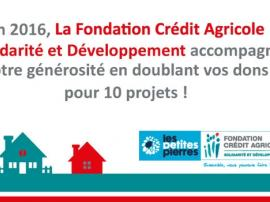 Actu - Fondation Crédit Agricole Solidarité - Les Petites Pierres - 1.06.2017