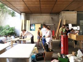 compagnons batisseurs relais orleanais chantier participatif